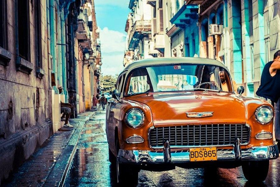 Classic car in Havana. Photo: Mary Kent