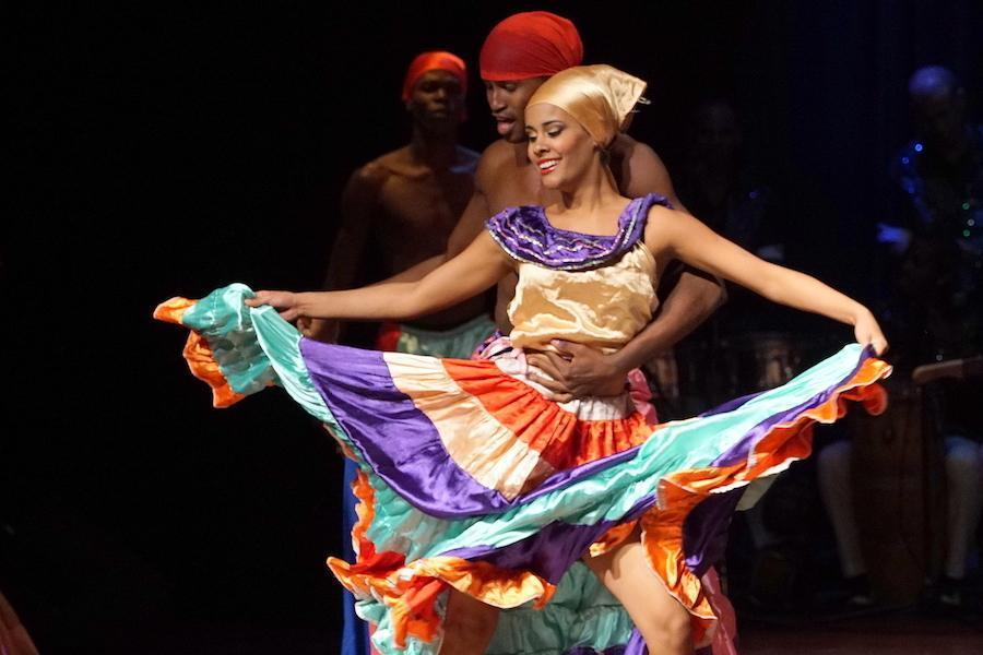 Cuban Dance Company Ban Rarrá. Photo: Rick Swig