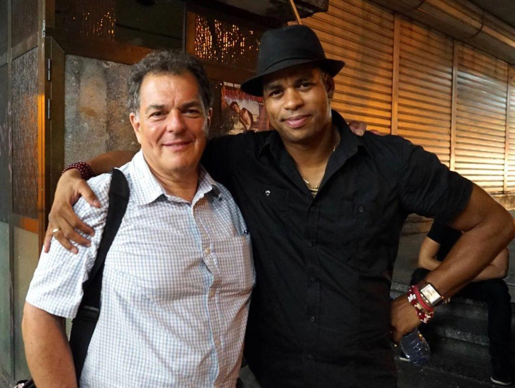 Roberto Fonseca with Rick Swig